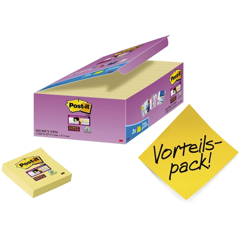 post-it-haftnotiz-super-sticky-48-x-48-mm-gelb-90-blatt