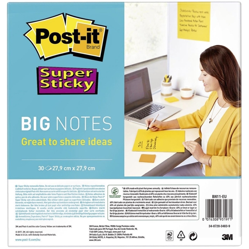 post-it-haftnotiz-super-sticky-big-notes-279-x-279-mm-gelb-30-blatt-1-block